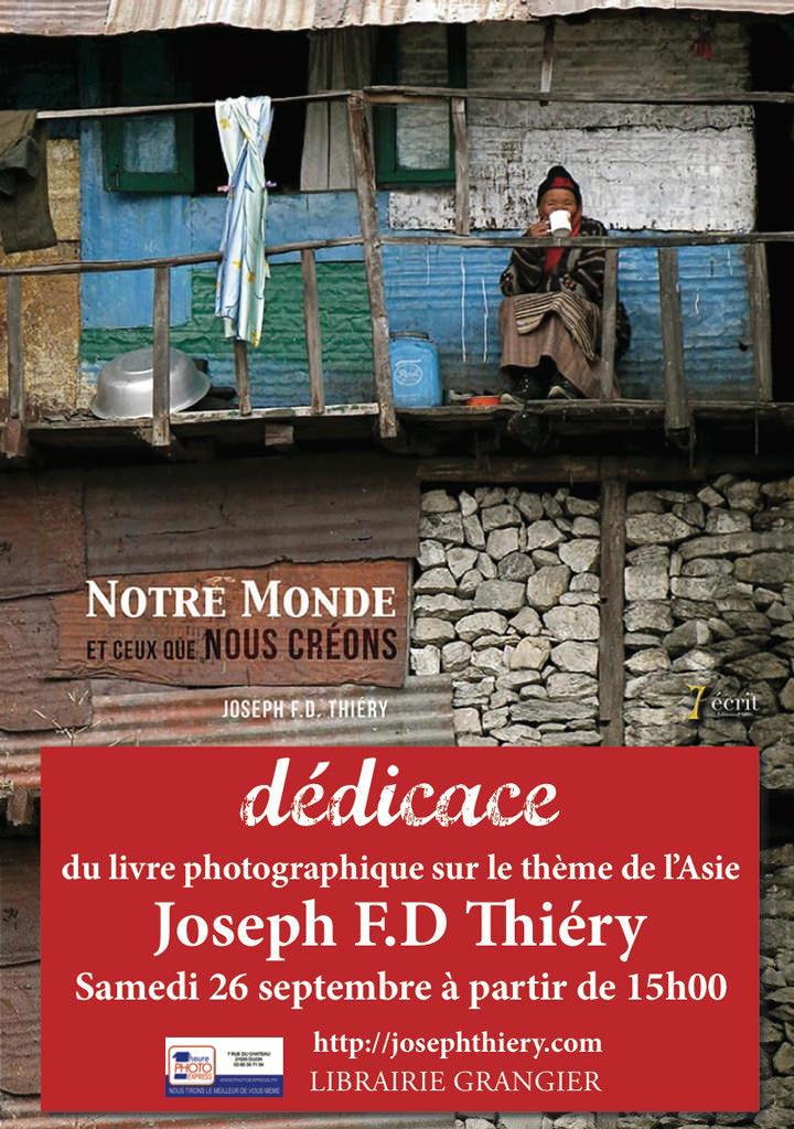 affiche librairie grangier Josephfdthiery web1