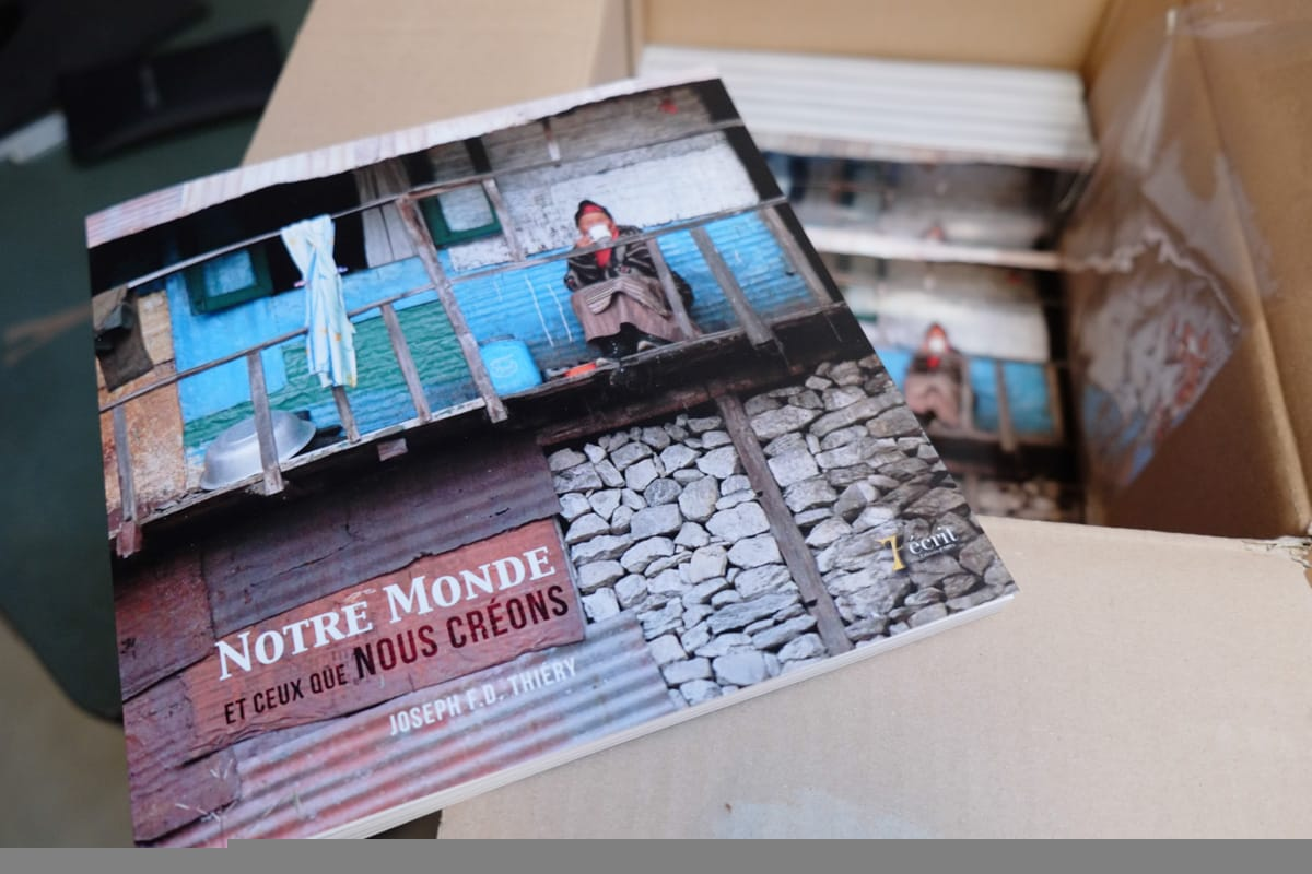 Publication of photobook <em>Our World</em> (<em>Notre Monde</em>)